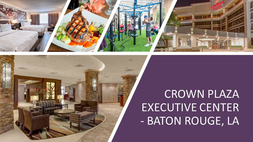 Crown Plaza Executive Center - Baton Rouge